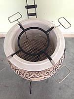 Тандыр №3.5 ( шар) (комплект)(с метал. поддувалом), фото 1