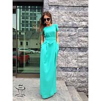 Женское Превосходное длинное Платье макси в пол  стильное и модное    Элиза