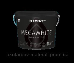 Интерьерная краска ELEMENT PRO MEGAWHITE