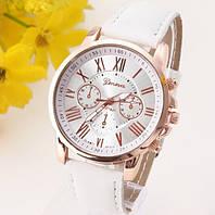 Часы женские Geneva Platinum белые и синие