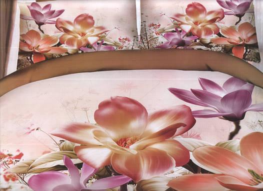 Комплект постельного белья евро-размер - № 791
