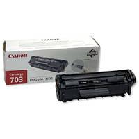 Картридж Canon 703, Black, LBP-2900/3000, 2k, OEM (7616A005)