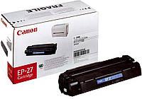 Картридж Canon EP-27, Black, LBP-3200, MF3110/3228/3240/5630/5650/5730/5750/5770, 2.5k, OEM (8489A002)