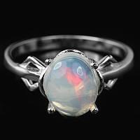 Серебряное кольцо с опалом 18 р