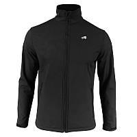 Спортивная куртка с мембраной и отражателями Radical Crag, с виндстоппером черная