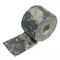 """Лента маскировочная адгезивная """"CamoForm"""", 5 см х 366 см, ACU, """"McNETT"""""""