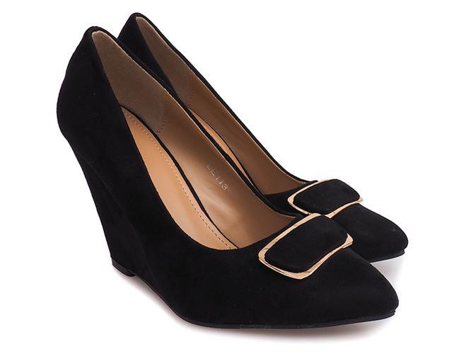 Женские туфли  из замша