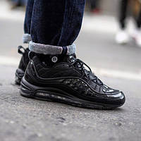 Кроссовки Supreme x Nike Air Max 98 black