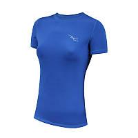 Спортивная женская футболка Radical Capri синяя (Польша)