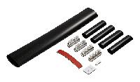 Муфта SJK2C соединительная термоусаживаемая 0,6/1 (1,2) кВ Al/Cu 50-95 мм²