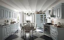 Итальянская классическая голубая кухня SIVIGLIA Azzurro фабрика EFFE QUATTRO