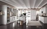 Итальянская классическая белая кухня SIVIGLIA Patinata Bianca фабрика EFFE QUATTRO, фото 2