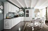 Итальянская классическая белая кухня SIVIGLIA Patinata Bianca фабрика EFFE QUATTRO, фото 4
