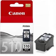 Картридж Canon PG-510Bk, Black, MP240/250/260/270/480/490, MX320/330, 9 ml, OEM (2970B001)