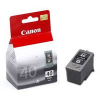Картридж Canon PG-40, Black, iP1200/1800/2500, MP140/150/160/170/180/210/220/450/470, 16 ml, OEM