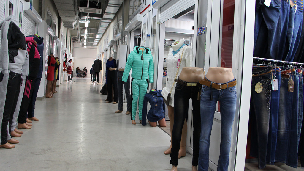 Торговля мужской и женской одеждой