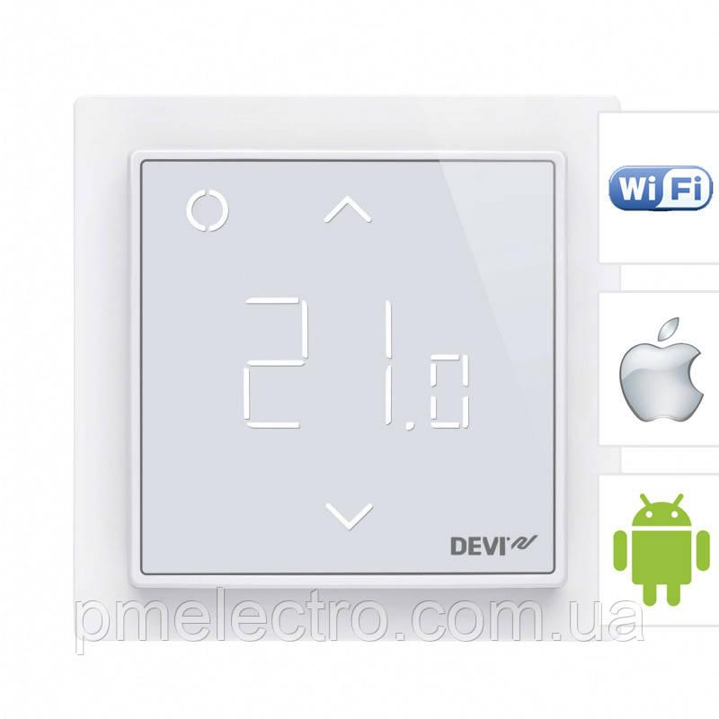 DEVIregTM Smart Pure White  терморегулятор WI-FI