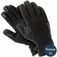 Перчатки женские MARMOT Wm's Windstopper Glove, черные (рXS)
