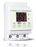Многофункциональное реле контроля напряжения и силы тока HS Electro НТ-63 (63А)