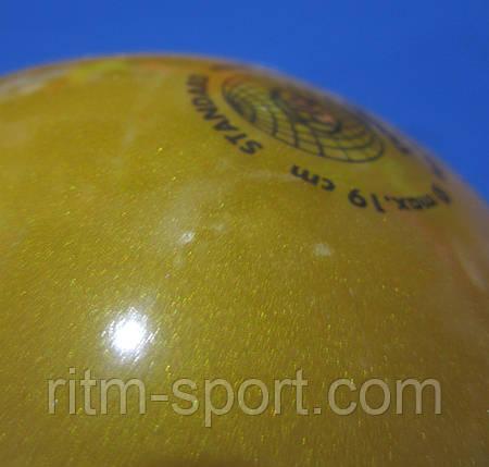 Мяч для художественной гимнастики T0GU Германия (19 см,400 г), фото 2