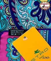 Брендовый шёлковый платок ETRO (реплика), фото 3