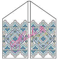 Рушник весільний  заготовка для вишивки бісером, нитками