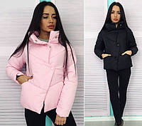 Женская модная  куртка плащевка+синтепон