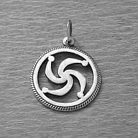 """Серебряная подвеска """"Символ Рода"""""""