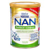 Детская сухая молочная смесь Nestle NAN Тройной комфорт , 400 г