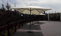"""Уличный зонт """"ПРАГА"""" 3х4м. для летних ресторанных площадок и кафе"""