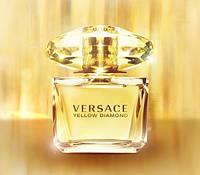 Женская туалетная вода  Versace Yellow Diamond (нежный, цветочный, роскошный аромат)  AAT