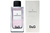 Женская туалетная вода Dolce & Gabbana 3 L`Imperatrice (соблазнительный цветочно-водный аромат)  AAT