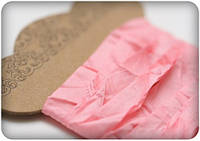 Лента-шебби розовый 10мм\1м