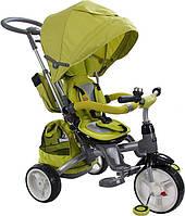 Трехколесный велосипед-коляска Sun Baby Little Tiger T500. Цвет: зелёный, фото 1