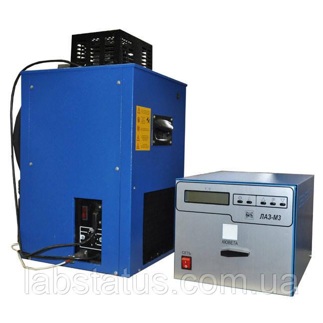 ЛАЗ-М3 Апарат для визначення температур плавлення і застигання нафтопродуктів (низькотемпературний)