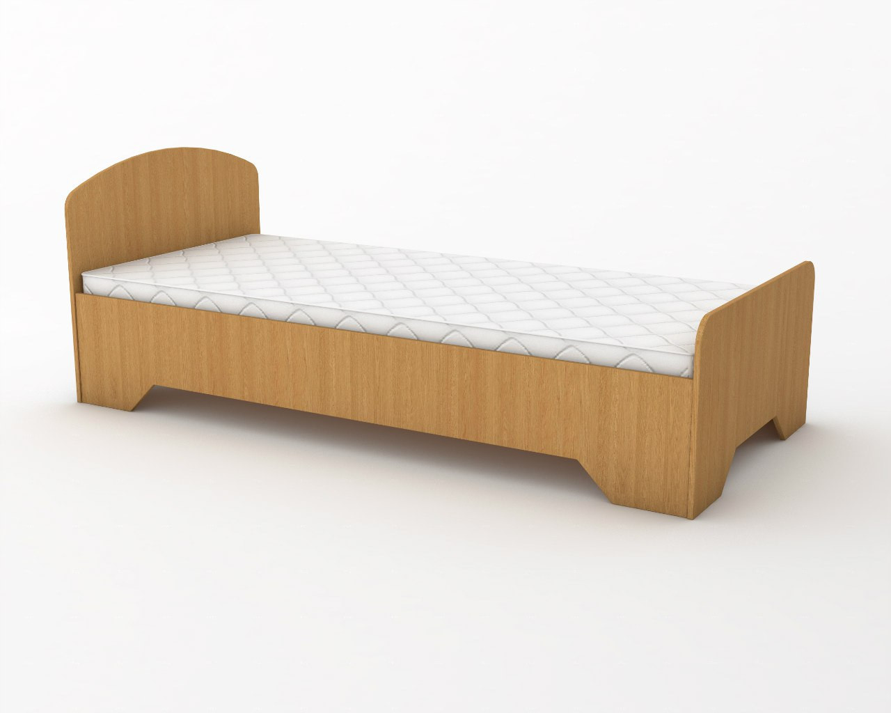 Кровать детская 140х60 см. Цвет на выбор КДО-005