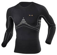 Мужская термофутболка с длинным рукавом X-BIONIC Extra Warm Man Shirt Long I20106