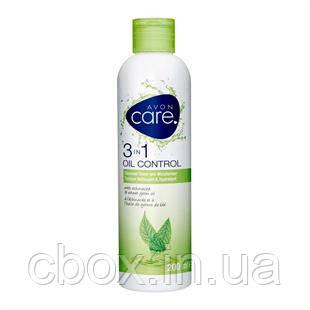 Комплексне засіб для шкіри особи 3 в 1 з екстрактом ехінацеї і маслом зародків пшениці, Avon Care, Ейвон