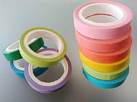 Скотч цветной декоративный - ширина 7 мм, длина 5 м