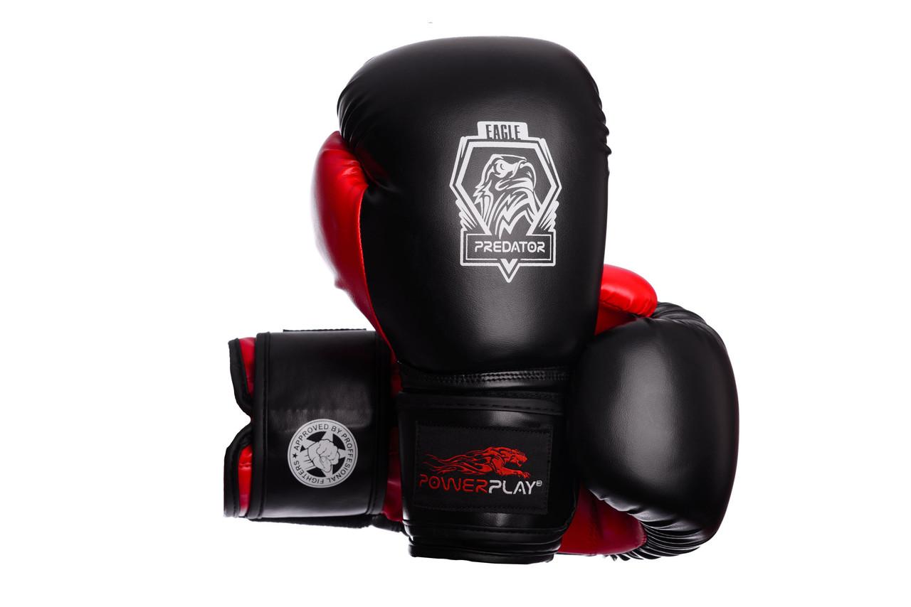 Боксерские перчатки Eagle Series Red