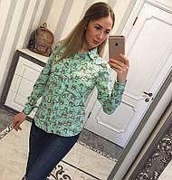 Блуза креп-шифон 1401