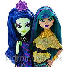 Набор кукол Monster High Аманита и Нефера (Nefera de Nile & Amanita) Крик и Сахар Монстер Хай Школа монстров
