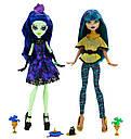 Набір ляльок Monster High Аманіта і Нефера (Nefera de Nile & Amanita) Крик і Цукор Монстер Хай, фото 3