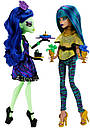 Набір ляльок Monster High Аманіта і Нефера (Nefera de Nile & Amanita) Крик і Цукор Монстер Хай, фото 4