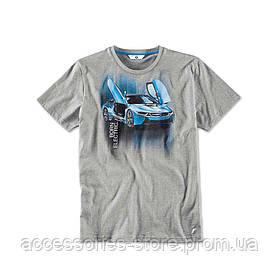 Мужская футболка BMW i T-Shirt with i8 Print, Men
