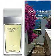 Женская туалетная вода Dolce & Gabbana Light Blue Escape to Panarea  AAT