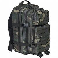 Рюкзак тактический Brandit US Cooper Lasercut medium (30л), darkcamo