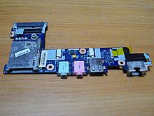 Плата NAV50 LS-5655P аудио, звук, сеть, USB, картридер от ноутбука Acer Aspire one NAV70