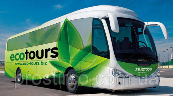 Внешняя реклама на транспорт One Way vision