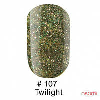 Гель-лак Naomi 107 Twilight, 6 мл